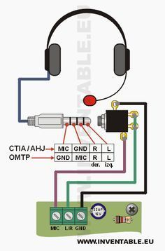 Connecting the headphones with a single 4-jack ... - #4jack #connecting #electronic #Headphones #single