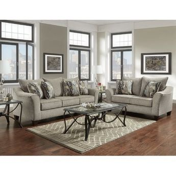 Alcott Hill Hartsock 2 Piece Living Room Set