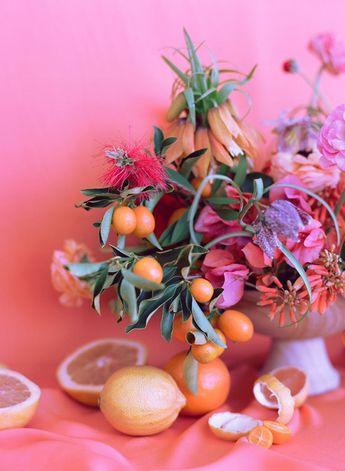 california florals   designlovefest + amy merrick + chantal anderson
