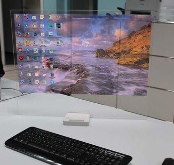The Vanishing Screen concept , - , The HTD -01 vani...
