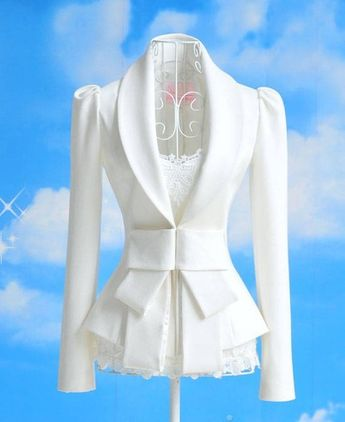 White Slim Small Suit