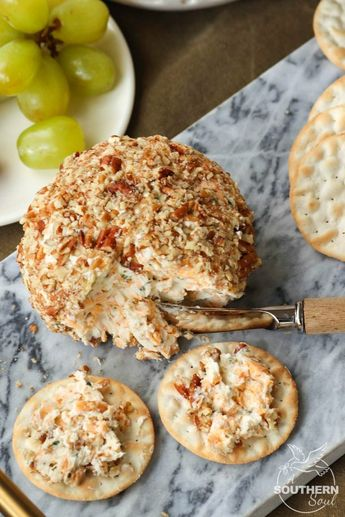 Cheddar & Chive Cheese Ball