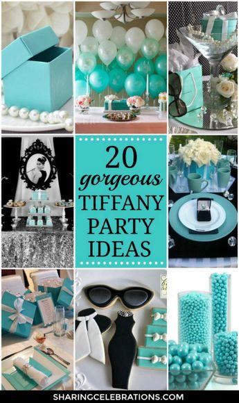 20 Gorgeous Tiffany Party Ideas