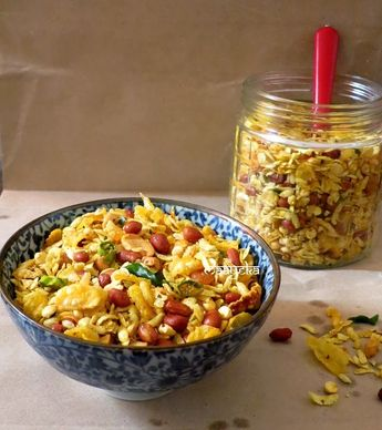 How to Make Poha Chiwda - Diwali Special Recipe » Maayeka