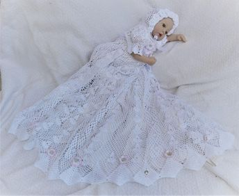 ecb0254f569e 5 crochet patterns of christening gowns at a discount price
