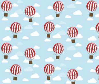 Hot Air Balloon fabric by kathrinlegg on Spoonflower - custom fabric