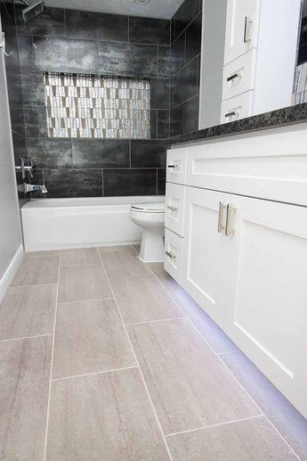 Bathroom-Modern Contemporary-Tile Stone-Light