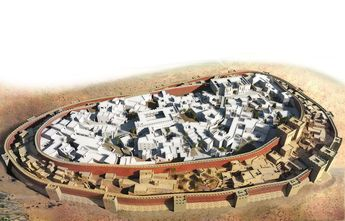 Jericho – the first walled city, Palestine