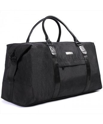 Travel Duffle Weekend Bag - Duffel Bag for Men and Women - Bonus Shoe Pouch  - 6823140c733fc