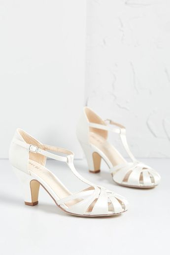 There Chic Goes T-Strap Heel