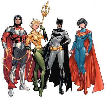 Art Vault — The Multiversity (DC Comics) * Earth-22 - Kingdom...