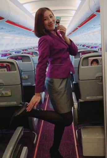 【Hong Kong】 HK Express cabin crew / 香港エクスプレス 客室乗務員 【香港】