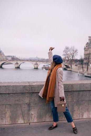 A Parisian Look #fashion #streetstyle #styleinspiration #ootd #clothes #style #lookbook #wear