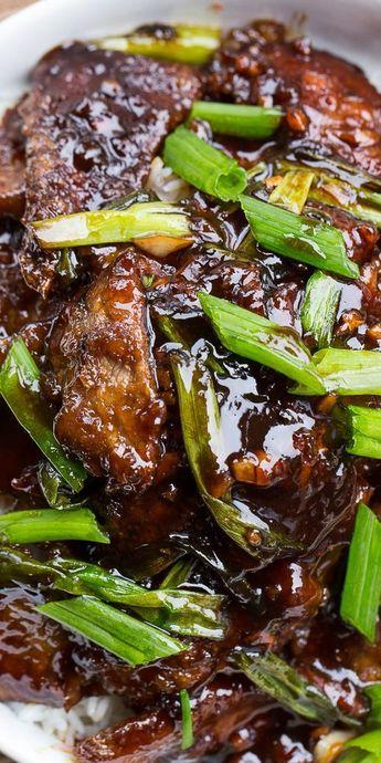 Mongolian Beef (PF Chang's copycat)