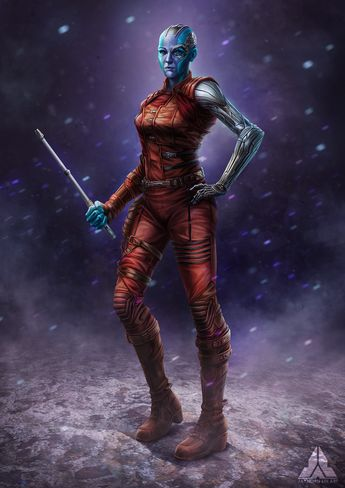 Avengers Infinity war - Nebula Fanart