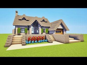 Minecraft Tuto Maison Moderne Sur L Eau