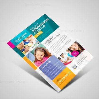 Professional School Flyer Design Template - Graphic Templates