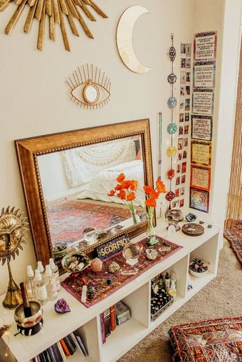 @LADYSCORPIO101 ☽ Alexa Halladay ✩ LadyScorpio101.com ☓ ☓ Align your 7 chakras with all of my energy healing products - the Chakra Mastery Tool Kit! Check out my collection for decor, workbooks, the blog, aromatherapy sprays, chakra box, subscriptions, downloads, tea, diy, ebooks, etc! #zen #chakras #rainbow #moonphase #metaphysical #bedroom #bohemian #wallspace #dreambedroom #decor #homedecor #thirdeye #allseeingeye #hangingwalldecor #meditate #meditation #yoga #BedroomIdeas