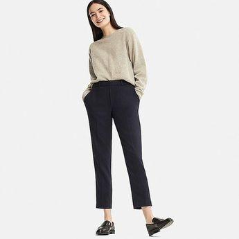 Women ezy tweed ankle-length pants (online exclusive)
