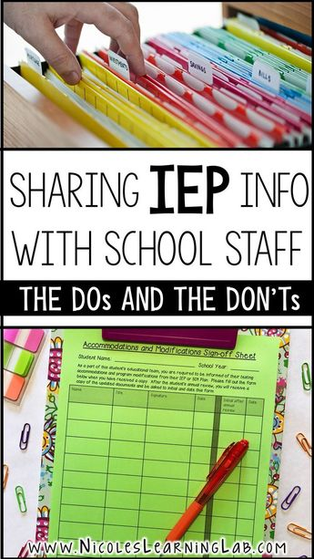 Special educations teachers are responsible for making sure IEPs are followed. T