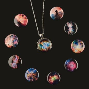 Interchangeable Nebula Necklace With 10 Designs