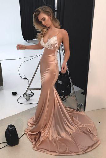 Sexy Off Shoulder Side Slit Mermaid Long Evening Prom Dress