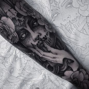Done by me Shaun Williams at Nebula Tattoo uk. Instagram: davidshaun