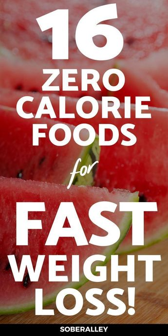 Zero Calorie Foods: Eat All You Want And Still Lose Weight?
