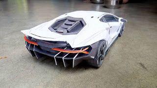 Lamborghini Centenario Paper Car