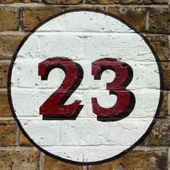 Twenty Three typography-Dating