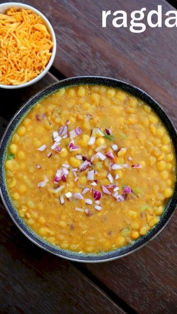 Ragda recipe | how to make ragda for ragda patties | ragda for chaat recipes