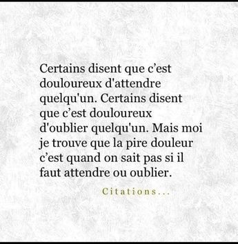Moi je vais attendre que la souffrance diminue... - #attendre #diminue #Je #La #moi #souffrance #vais