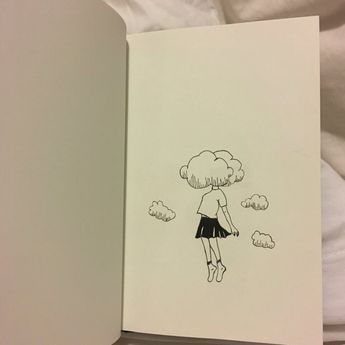 If it ain't me. #cloud #girl #draw #drawing #sketching