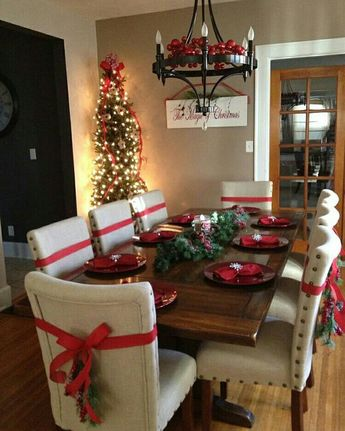 @christmasglitter Mesa natalina
