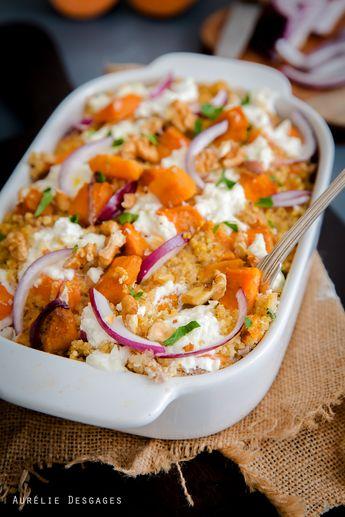 Cooking Lili » Gratin de Patate douce Quinoa et Chèvre