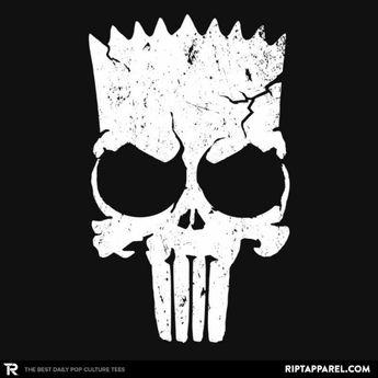 Punish Springfield - Bart Simpson T-Shirt