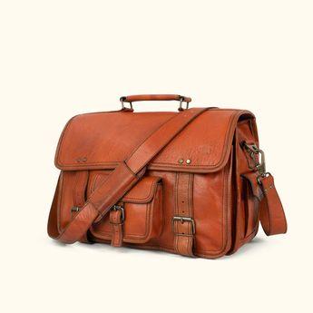 Roosevelt Buffalo Leather Travel Duffle Bag  84e34e8fc6138