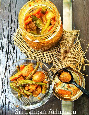 Sri Lankan Achcharu – My Sri Lankan Recipes