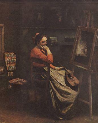 L'atelier de Corot, ca. 1865