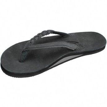 448dc18c4c5 Rainbow Women s Flirty Braidy Black Sandals - Small 5.5-6.5 B(M) US