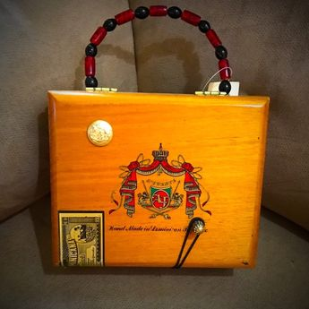 I just discovered this while shopping on Poshmark  Cuban Corona Cigar Box  Purse NWT. a9a71a4d6a7f3