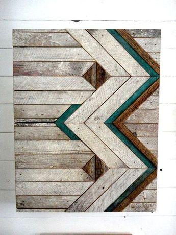50+ Beautiful Handcrafted Wood Wall Art