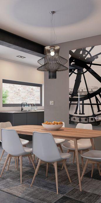 Boldly Nordic, the Skandinavia Dining Table embodies that classic, straightforward aesthetic that is taking over the design world. #modanifurniture #modernhome #interior123 #interiordesire #interiordetails #interiorforinspo #interiorstylist #houseevey #homereno #homedetails #homedecorideas #ihavethisthingwithdecor #myhomevibe #mycurrentdesignsituation #myhousebeautiful #midecenturymodern #modern #contemporary