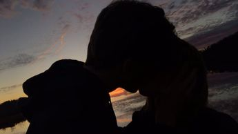 #sunset #love #lake #kiss #couple #happy #relationship