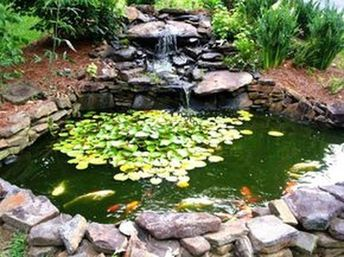 41 Awesome Small Waterfall Pond Landscaping Ideas Backyard