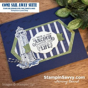COME SAIL AWAY Suite Sneak Peek! - ❤ Stampin' Savvy