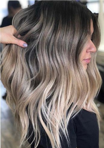 Fashionable and bold ladies who are searching for updated trends of hair colors they must see here for best ever beige blonde melted hair colors and hairstyles to make their hair looks extra cute and charming in year 2019.