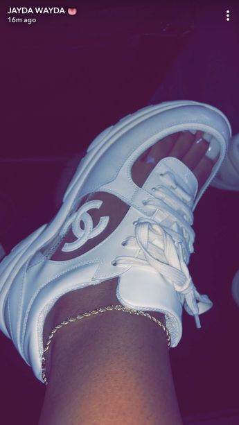 Because u gots pretty feet.