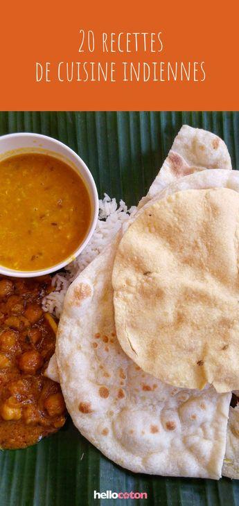 20 recettes aux saveurs indiennes ! #recette #cuisine #cuisineindienne