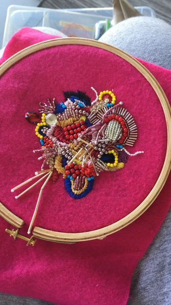 Abstract embroidery ~ week 7